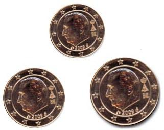 125 Cent Belgien 2008 Graf Waldschratde In Unserem Euro Münzen