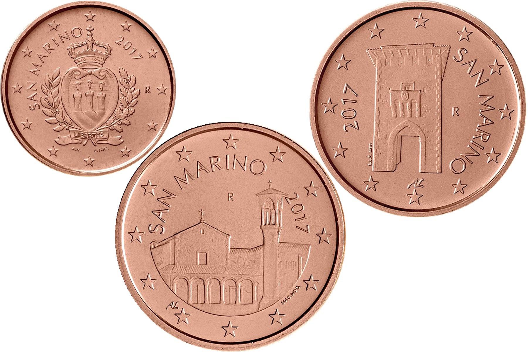 125 Cent San Marino 2017 Graf Waldschratde In Unserem Euro