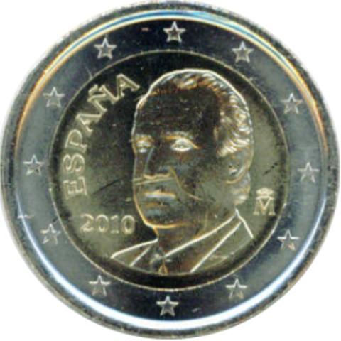 2 Euro Spanien 2014 Graf Waldschratde In Unserem Euro Münzen