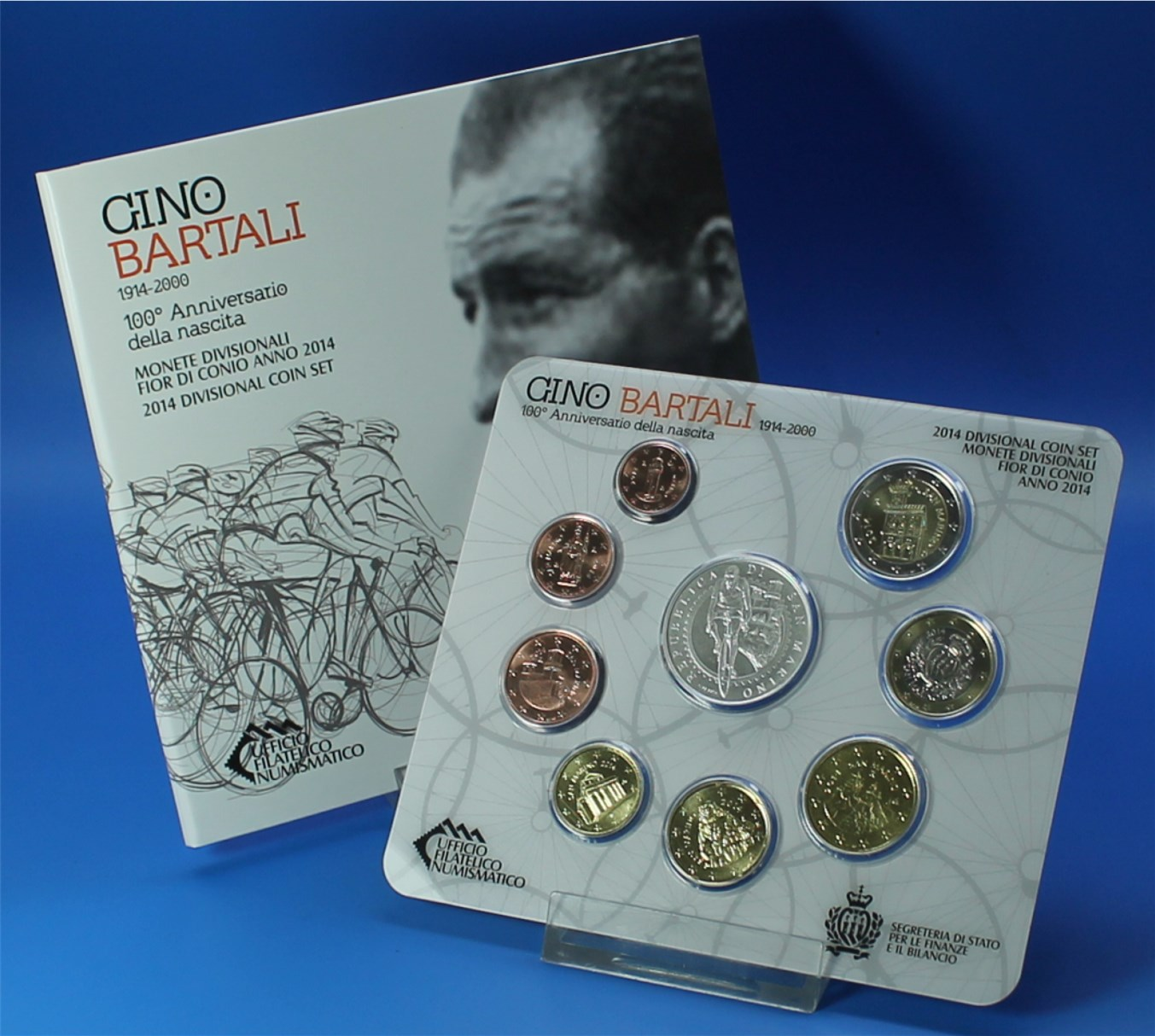 San Marino 2014 Bu 1 Cent Bis 2 Euro5 Euro Graf Waldschratde
