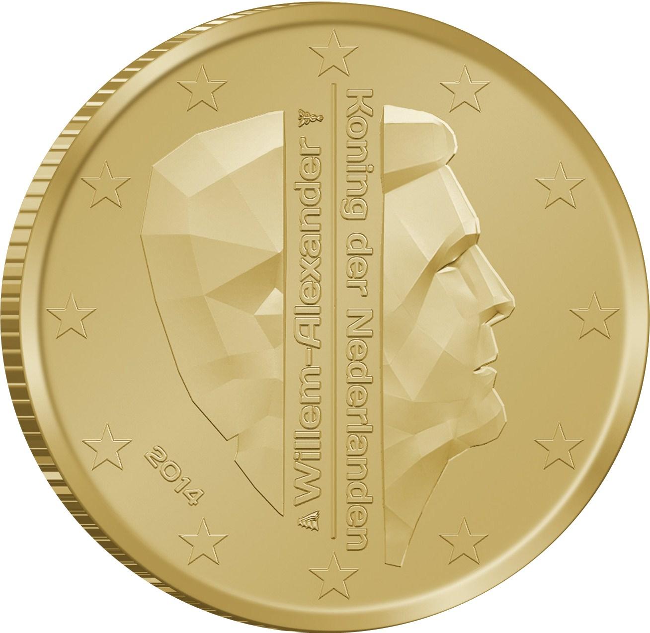 10 Cent Niederlande 2015 Graf Waldschratde In Unserem Euro