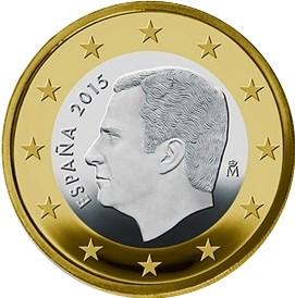 1 Euro Spanien 2016 Graf Waldschratde In Unserem Euro Münzen
