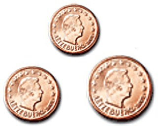 125 Cent Luxemburg 2016 Graf Waldschratde In Unserem Euro