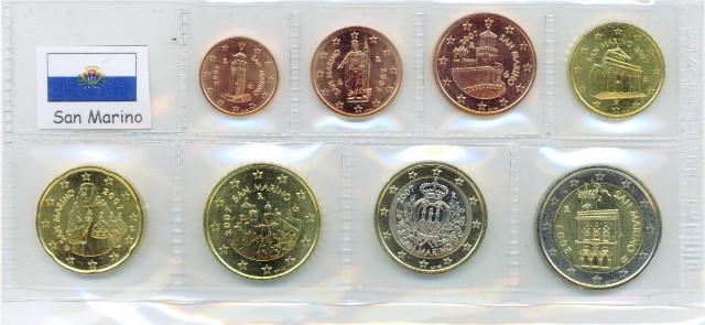 Kurs Münz Satz San Marino 2016 1 Cent Bis 2 Euro Graf Waldschrat