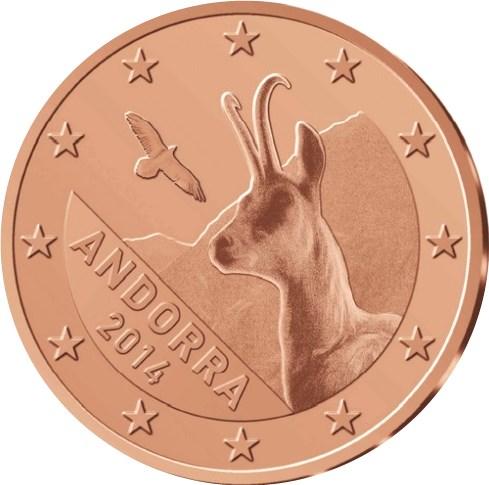 2 Cent Andorra 2016 Graf Waldschratde In Unserem Euro Münzen