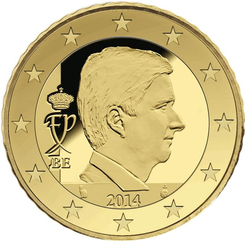 50 Cent Belgien 2017 Graf Waldschratde In Unserem Euro Münzen