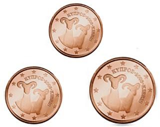 125 Cent Zypern 2017 Graf Waldschratde In Unserem Euro Münzen