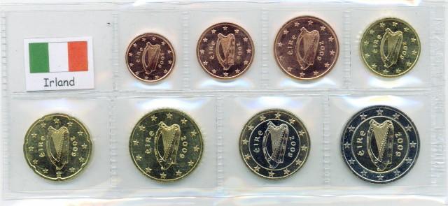 Kurs Münz Satz Irland 2017 1 Cent Bis 2 Euro Graf Waldschratde