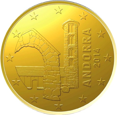 10 Cent Andorra 2018 Graf Waldschratde In Unserem Euro Münzen