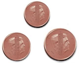 125 Cent Niederlande 2018 Graf Waldschratde In Unserem Euro
