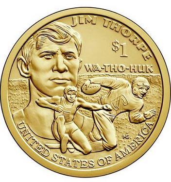 Usa 1 Dollar Ureinwohner 2018 P Jim Thorpe Graf Waldschratde
