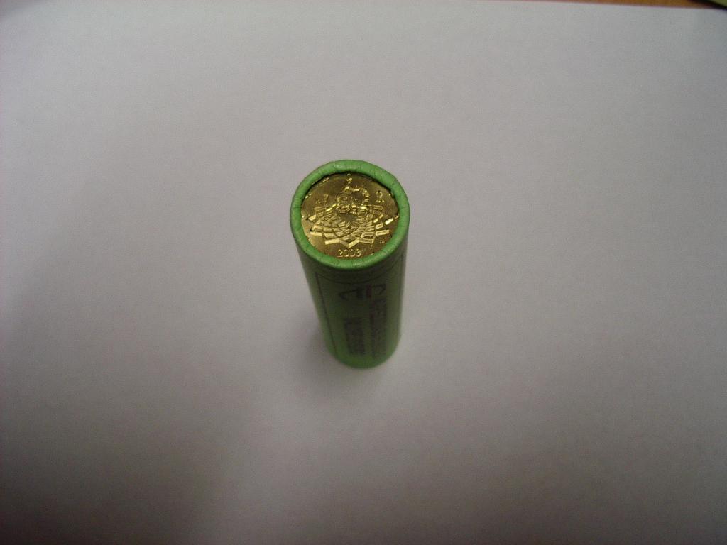 50 Cent Rolle Italien 2002 Graf Waldschratde In Unserem Euro