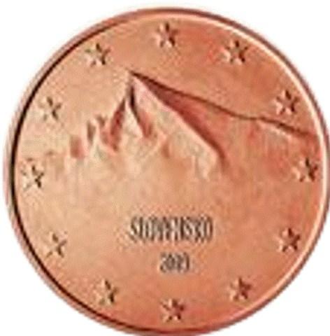 2 Cent Slowakei 2009 Graf Waldschratde In Unserem Euro Münzen