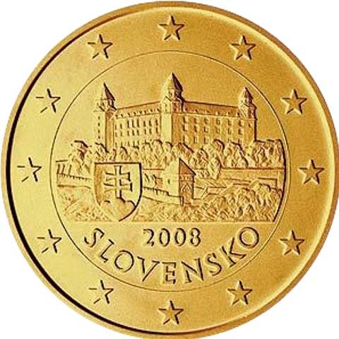 10 Cent Slowakei 2009 Graf Waldschratde In Unserem Euro Münzen