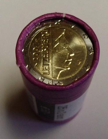 2 Euro Rolle Luxemburg 2002 Graf Waldschratde In Unserem Euro