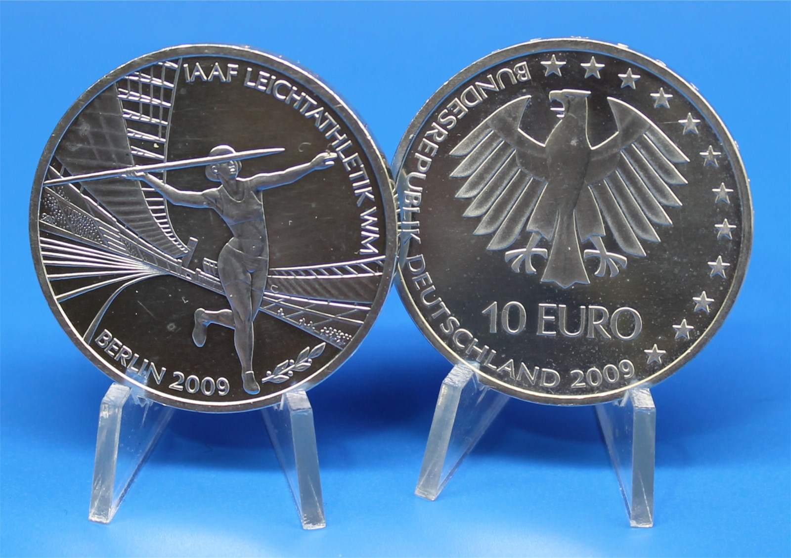 10 Euro Deutschland 2009 G Karlsruhe Leichtathletik Graf