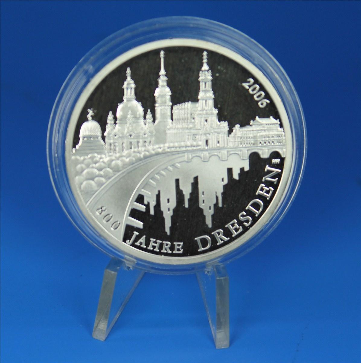 10 Euro Deutschland 2006 Pp Dresden Graf Waldschratde In