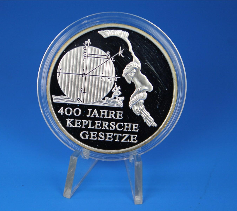 10 Euro Deutschland 2009 Pp Keplersche Gesetzte Graf Waldschrat