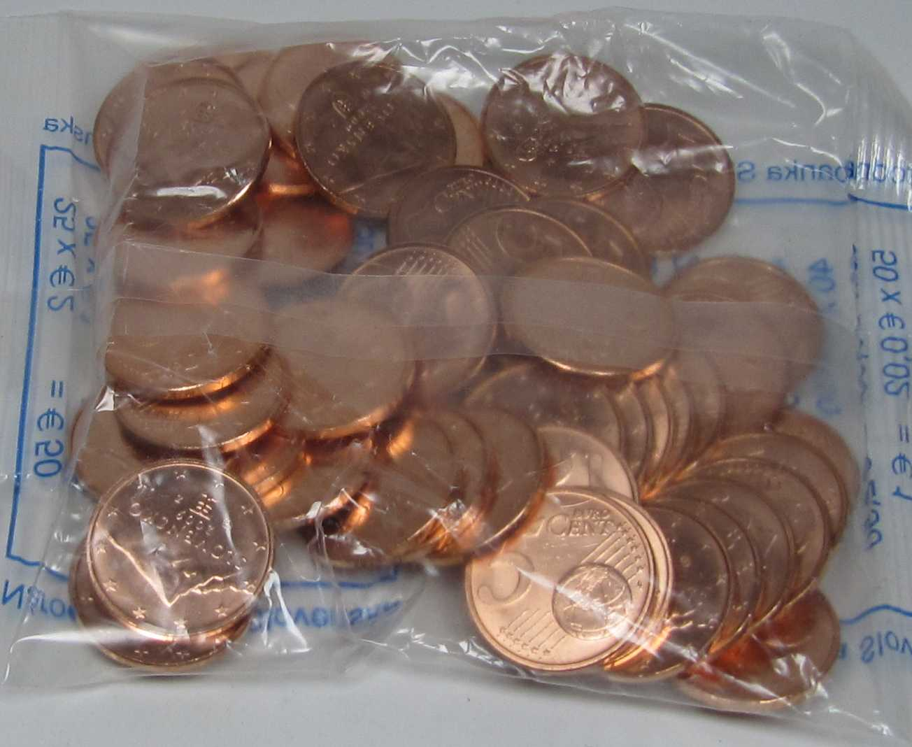 5 Cent Beutel Slowakei 2009 Graf Waldschratde In Unserem Euro