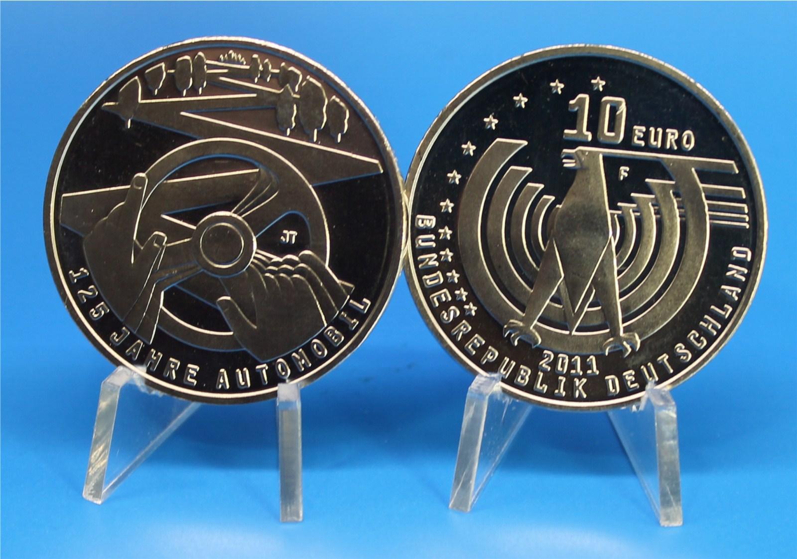 10 Euro Deutschland 2011 Automobil