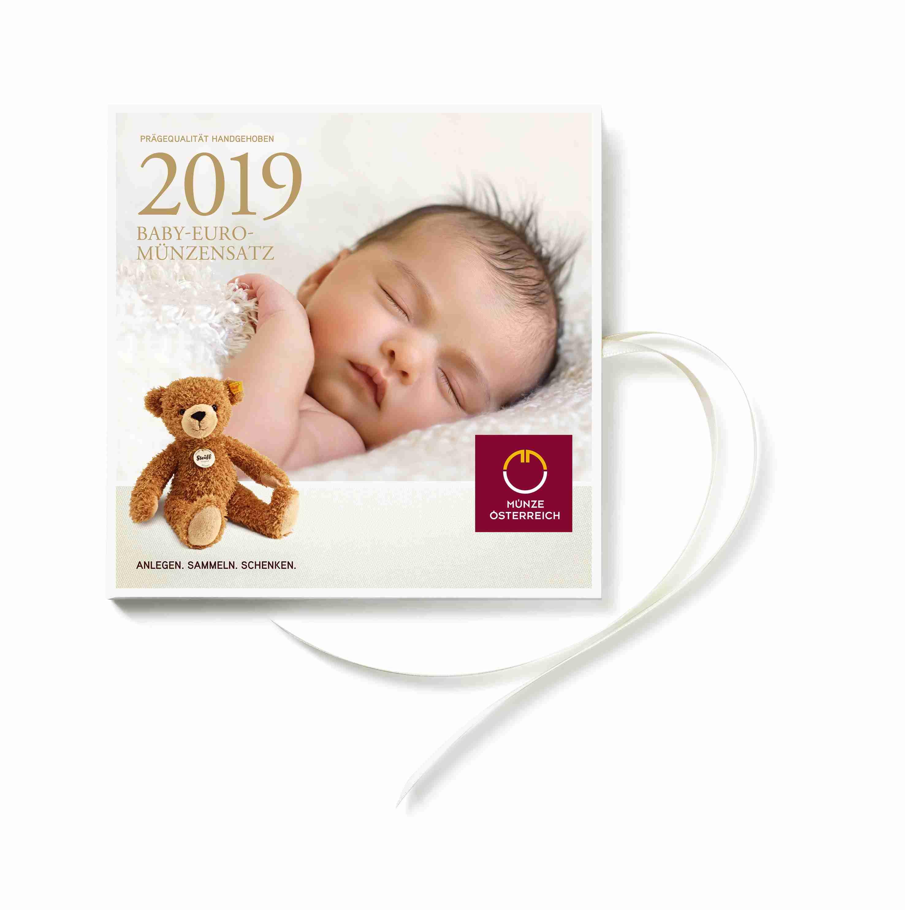 österreich 2019 Hgh 388 Euro Baby Graf Waldschratde In