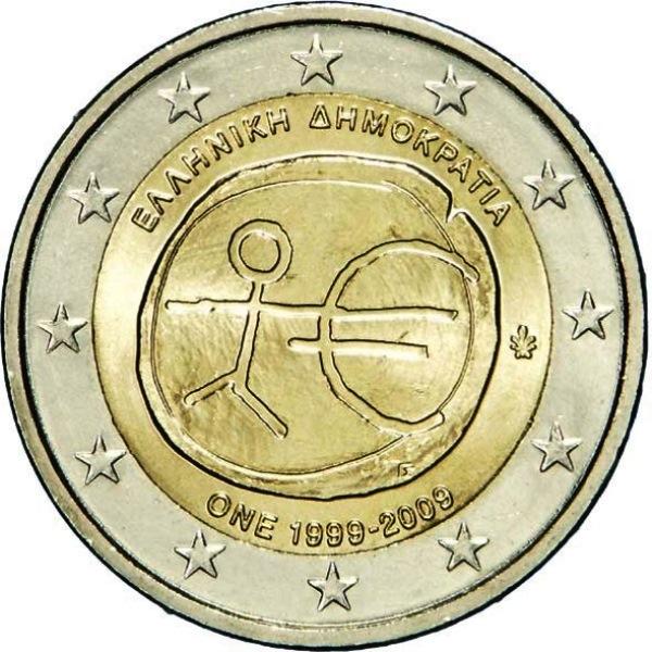 2 Euro Griechenland 2009 Wwu Graf Waldschratde In Unserem Euro