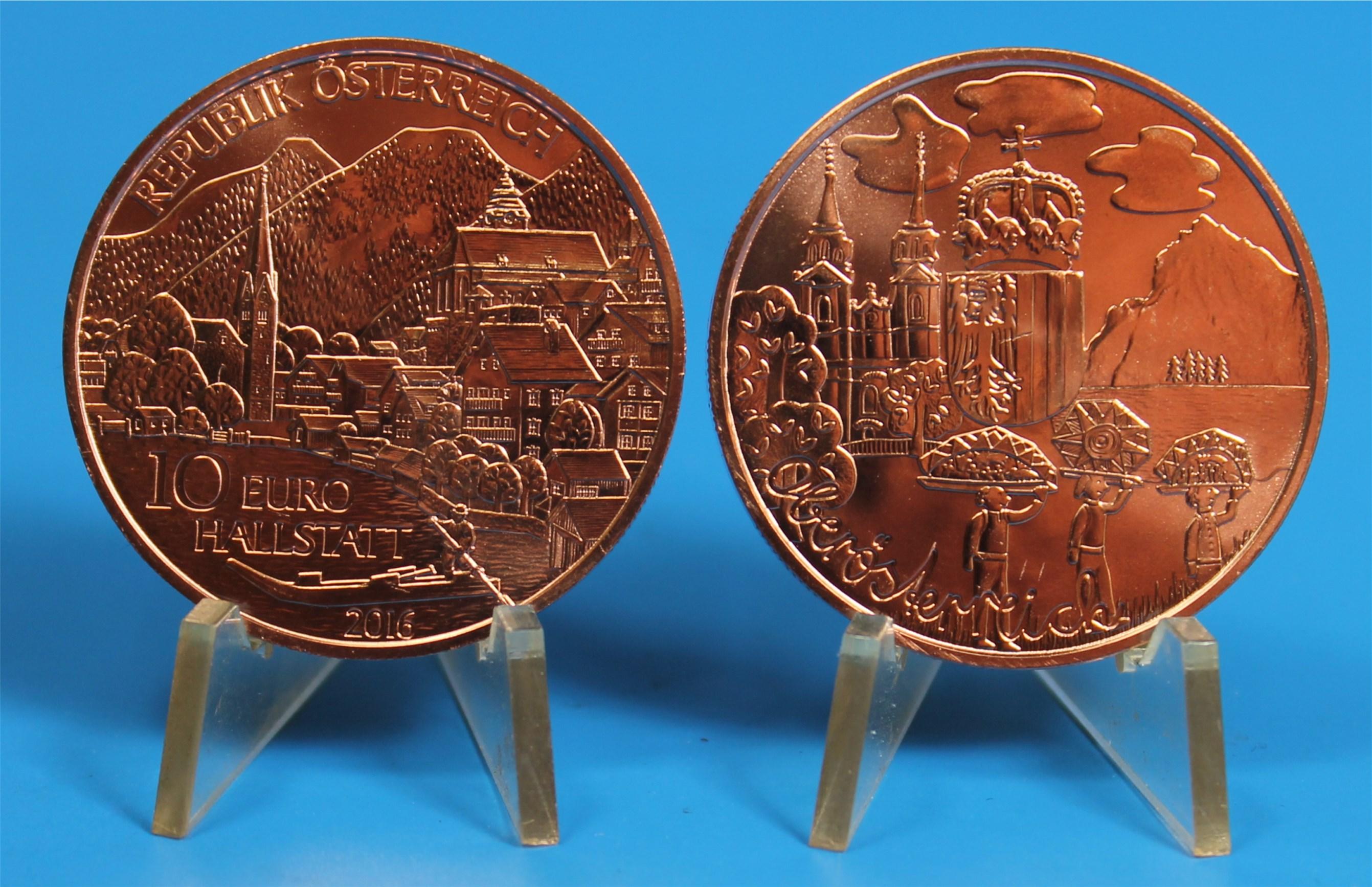 10 Euro österreich 2016 Oberösterreich Graf Waldschratde In