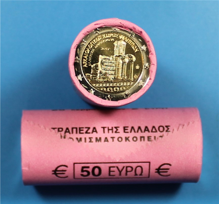 rolle cent 2 euro