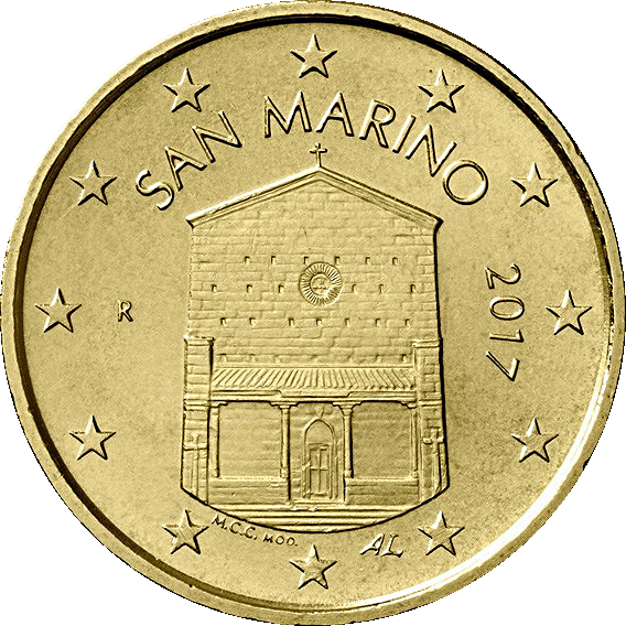 10 Cent San Marino 2017 Graf Waldschratde In Unserem Euro Münzen