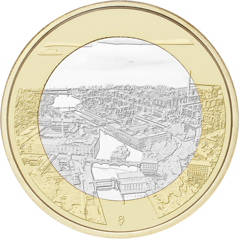 5 Euro Finnland 2018 Tammerkoski Graf Waldschratde In Unserem