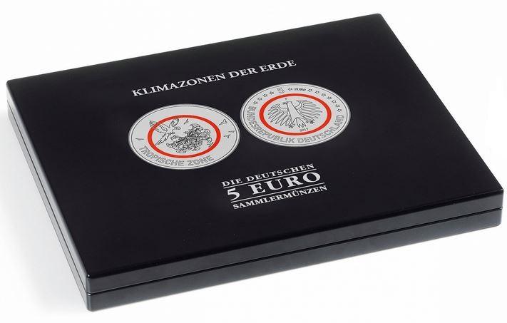Münzkassette Für Dt 5 Euro Sammlermünzen Klimazonen Der Erde In