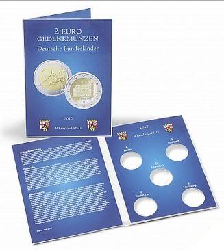 Münzkarte Für 5 Dt 2 Euro Gedenkmünzen Rheinland Pfalz Jg 2017