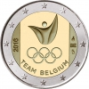 "2 Euro Belgien 2016 ""Team Belgien in Rio"""