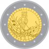 "2 Euro Estonia 2019 ""150th anniversary of the first Estonian song festival"