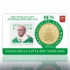 Coin-Card Vatican 2019 (Nr.25 + Stamp