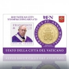 Coin-Card Vatican 2018 (Nr.23 + Stamp