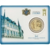"Coin-Card 2 Euro Luxembourg 2019 """"Grand Duchess Charlotte"" Mintmark - bridge"